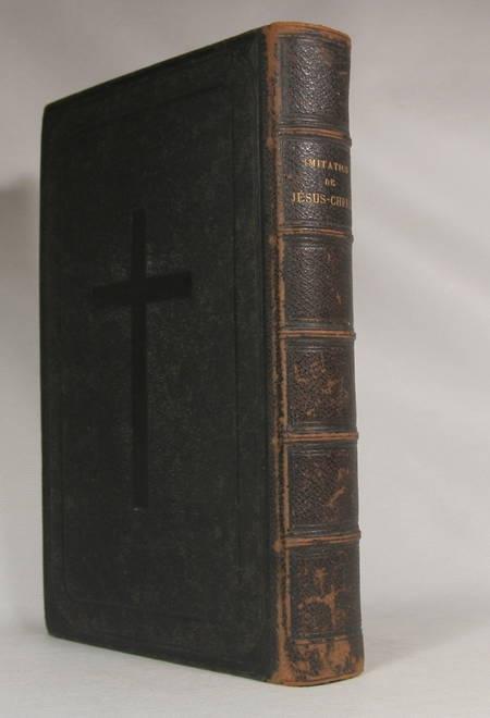 L'imitation de Jésus-Christ - Traduction nouvelle par Mgr. G. Darboy - 1855 - Photo 1 - livre d'occasion