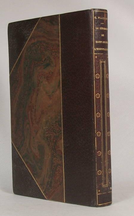 FLAUBERT (Gustave). La légende de St Julien l'Hospitalier, livre rare du XXe siècle