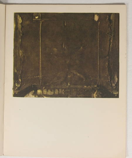 Tapies. 4 obras recientes - Barcelona - Sala Gaspar - 1961 - Photo 0 - livre de collection