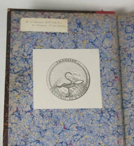 THIRION - L'évolution de l'astronomie chez les grecs - 1901 - Relié - Ex-libris - Photo 2 - livre d'occasion