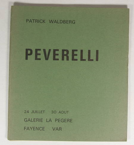 WALDBERG - Peverelli - Labarthe - Galerie La Pégère vers 1967 - Lithographies - Photo 1 - livre de collection