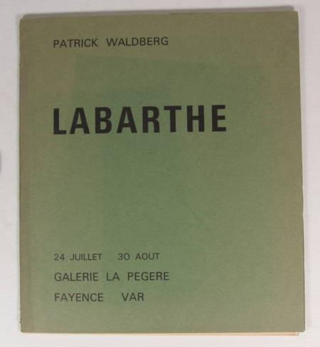 WALDBERG - Peverelli - Labarthe - Galerie La Pégère vers 1967 - Lithographies - Photo 2 - livre de bibliophilie