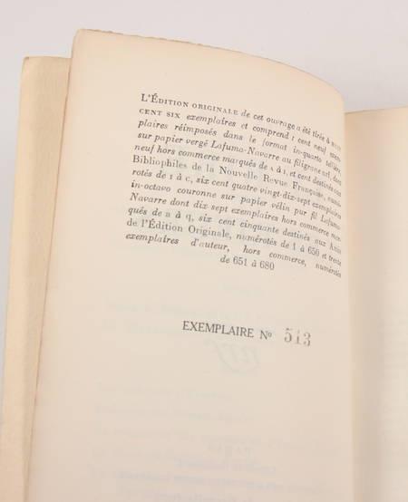 Lucien FABRE - Le rire et les rieurs - Gallimard - 1929 - EO - Photo 1, livre rare du XXe siècle