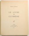 DEREME (Tristan) - Le livre de Clymène - 1927 - EO - Photo 0, livre rare du XXe siècle