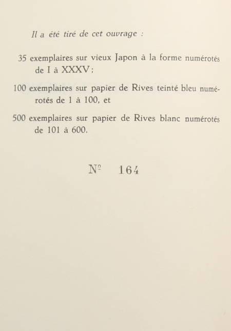 DEREME (Tristan) - Le livre de Clymène - 1927 - EO - Photo 1, livre rare du XXe siècle