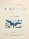 MAETERLINCK (Maurice). L'oiseau bleu