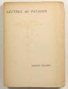 DUHAMEL (Georges) - Lettres au Patagon - 1926 - EO sur vergé Montgolfier - Photo 0, livre rare du XXe siècle