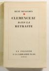 BENJAMIN (René) - Clémenceau dans la retraite - 1930 - EO sur Alfa - Photo 0 - livre d occasion