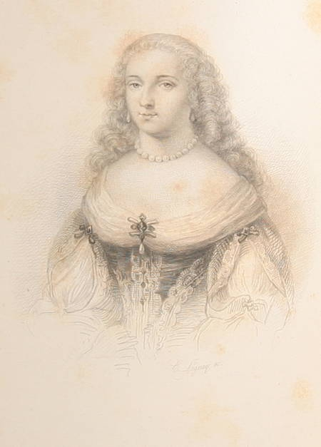 Cousin - Madame de Sablé. Etudes sur les femmes illustres - 1854 Rel. signée - Photo 1, livre rare du XIXe siècle