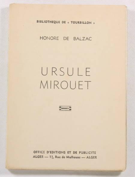 BALZAC (Honoré de). Ursule Mirouet