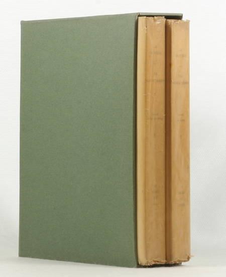 LA BRUYERE - Les caractères de Théophraste - 1928 - Burins de Gandon - 2 vols. - Photo 1 - livre de bibliophilie