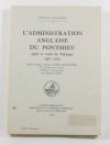 [Picardie Moyen Age] L administration anglaise du Ponthieu  (1361-1369) - 1975 - Photo 0, livre rare du XXe siècle