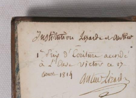 FENELON - Les aventures de Télémaque fils d'Ulysse - Barbou, 1806 - Photo 2 - livre de collection