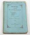 Mémoire et consultation relatifs aux biens de la famille d Orléans - 1852 - Photo 0, livre rare du XIXe siècle