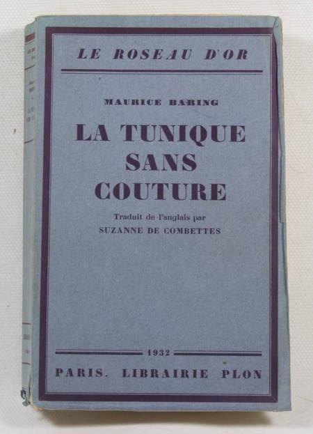 BARING (Maurice) - La tunique sans couture - 1932 ENVOI de la traductrice - Photo 1 - livre du XXe siècle