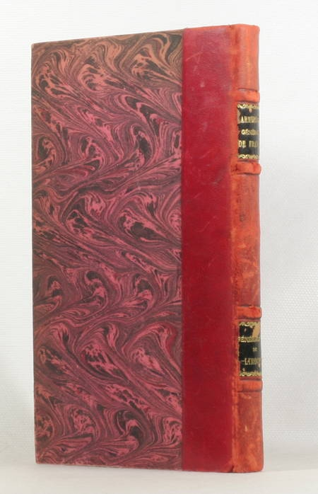 [HERLADIQUE LIMOUSIN] Hozier - Armorial de la généralité de Limoges - 1895 - Photo 1 - livre d'occasion