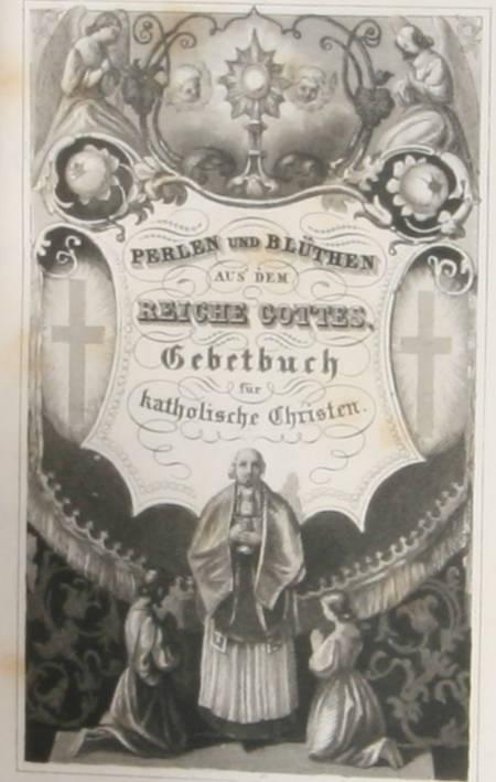COLPIN - Perlen und Blüthen - Würzburg, Etlinger, Vers 1850-1860 Gravures - Rare - Photo 1 - livre du XIXe siècle