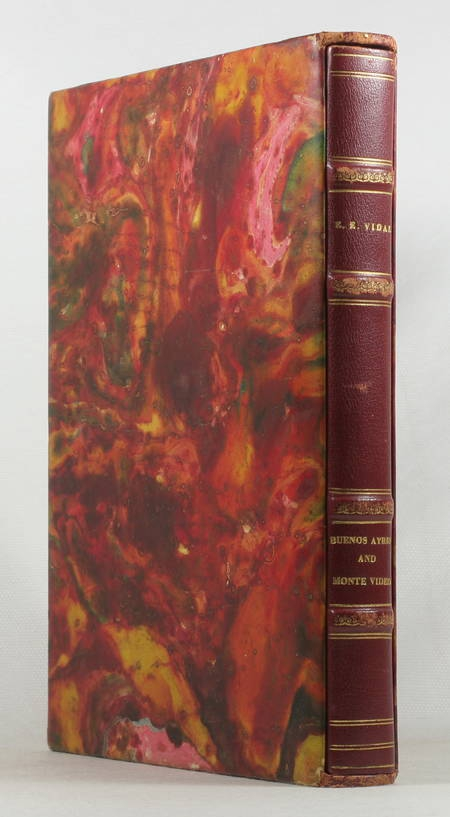 VIDAL - Buenos Ayres and Monte Video. 1820 (1943) - Photo 1 - livre de collection