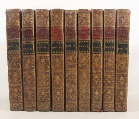 Théâtre de Mr. de BOISSY - 1758 - 9 volumes in-8 reliés - Frontispice - Photo 0 - livre du XVIIIe siècle