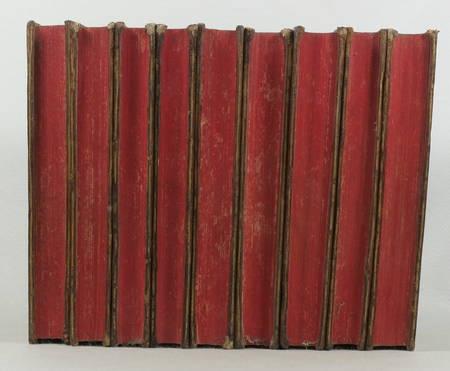 Théâtre de Mr. de BOISSY - 1758 - 9 volumes in-8 reliés - Frontispice - Photo 3 - livre du XVIIIe siècle