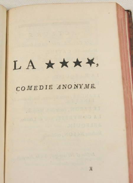Théâtre de Mr. de BOISSY - 1758 - 9 volumes in-8 reliés - Frontispice - Photo 7 - livre du XVIIIe siècle