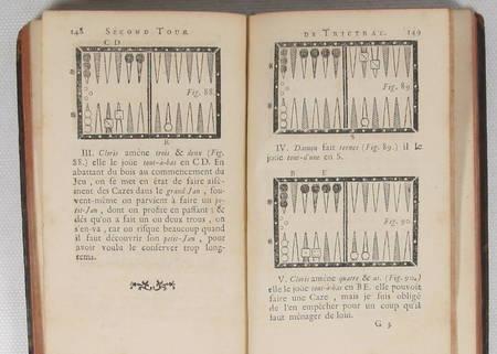 [Jeux] SOUMILLE - Le grand trictrac - 1756 - Relié - Figures - Photo 1 - livre ancien