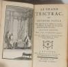 [Jeux] SOUMILLE - Le grand trictrac - 1756 - Relié - Figures - Photo 3 - livre du XVIIIe siècle