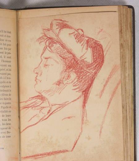 Edmond et Jules de GONCOURT - L art du XVIIIe siècle - 1902 - 3 volumes reliés - Photo 2, livre rare du XXe siècle