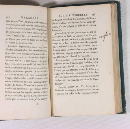 L'ISLE DE SALES - MALESHERBES 1803 - Relié - Photo 5 - livre rare