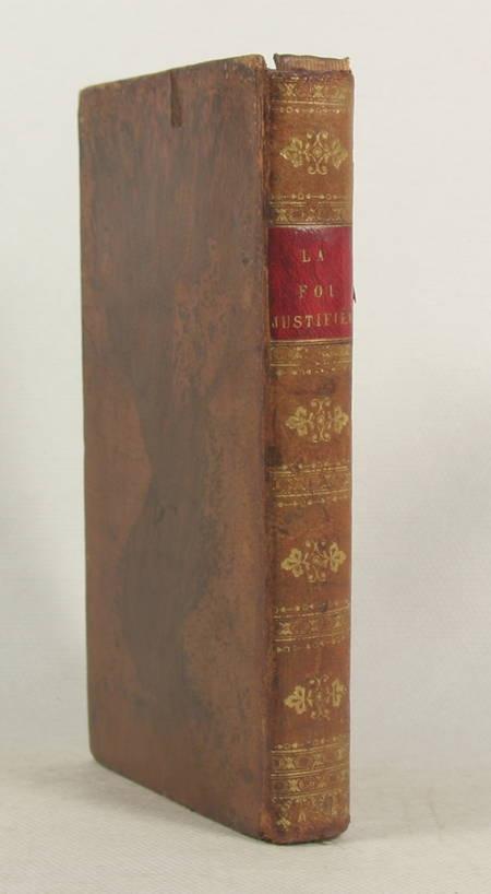 DELAMARE - La foi justifiée de tout reproche de contradiction - Besançon 1817 - Photo 1 - livre romantique