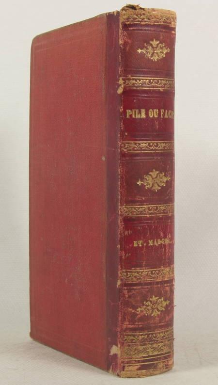 Etienne MARCEL Pile ou face, et autres nouvelles - 1867 - Photo 0 - livre du XIXe siècle