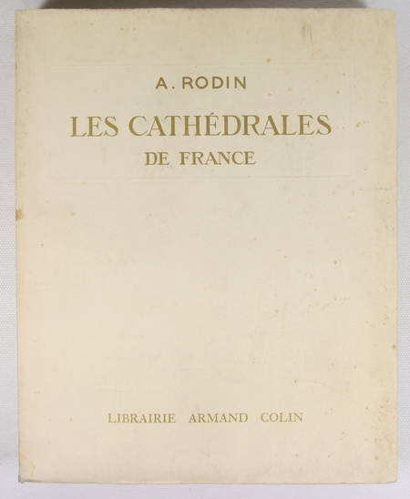 RODIN - Les cathédrales de France - 1914 - EO - 100 planches - Photo 1 - livre d'occasion