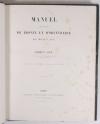 Didron - Manuel des oeuvres de bronze et d orfèvrerie du Moyen-Age - 1859 - Photo 2 - livre du XIXe siècle