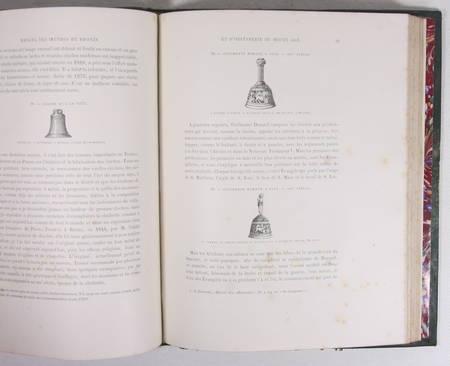 Didron - Manuel des oeuvres de bronze et d orfèvrerie du Moyen-Age - 1859 - Photo 3, livre rare du XIXe siècle