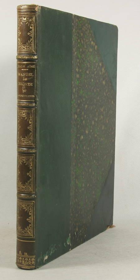 Didron - Manuel des oeuvres de bronze et d orfèvrerie du Moyen-Age - 1859 - Photo 4 - livre du XIXe siècle