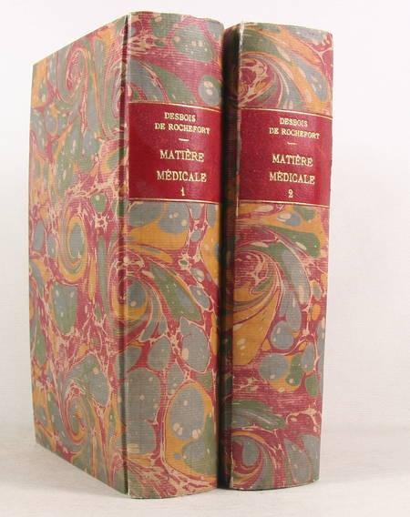 DESBOIS de R. et LULLIER Cours élémentaire de matière médicale - 1817 - Photo 0 - livre du XIXe siècle