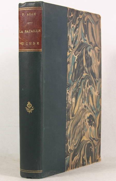 ADAM (Paul). La bataille d'Uhde, livre rare du XIXe siècle