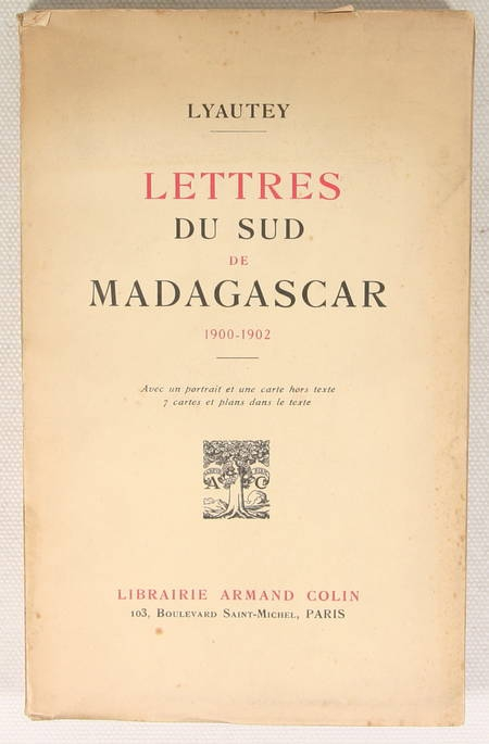 LYAUTEY - Lettres du sud de Madagascar 1900-1902 - 1935 - Photo 0 - livre de collection