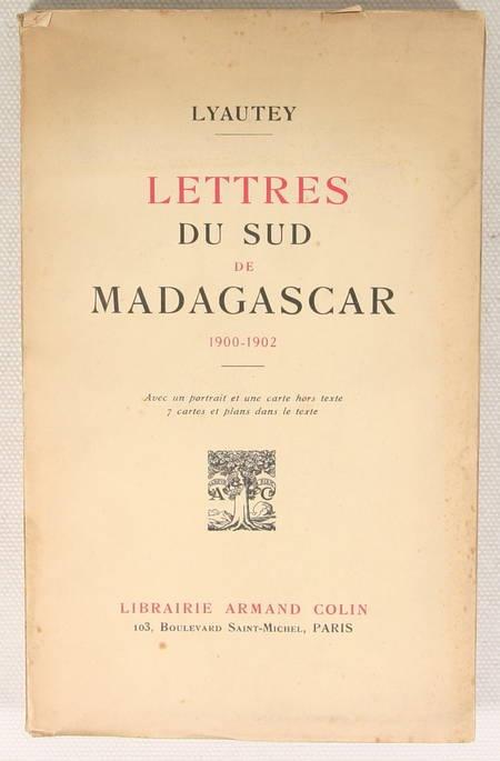 LYAUTEY - Lettres du sud de Madagascar 1900-1902 - 1935 - Photo 0 - livre d'occasion