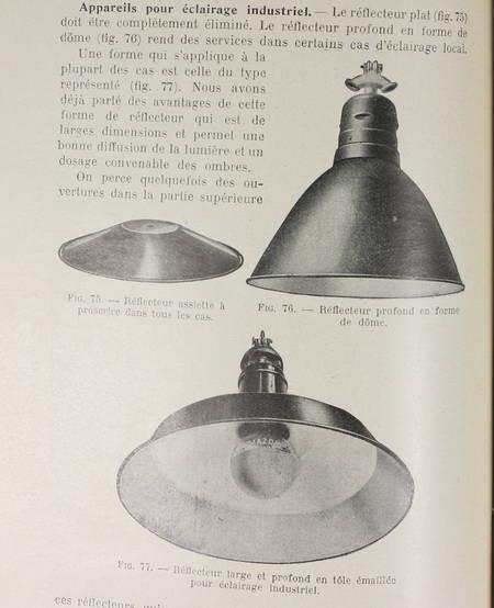 WETZEL (J.). Les méthodes modernes d'éclairage. Technique de l'utilisation de la lumière. Cous professé à l'Ecole spéciale des travaux publics