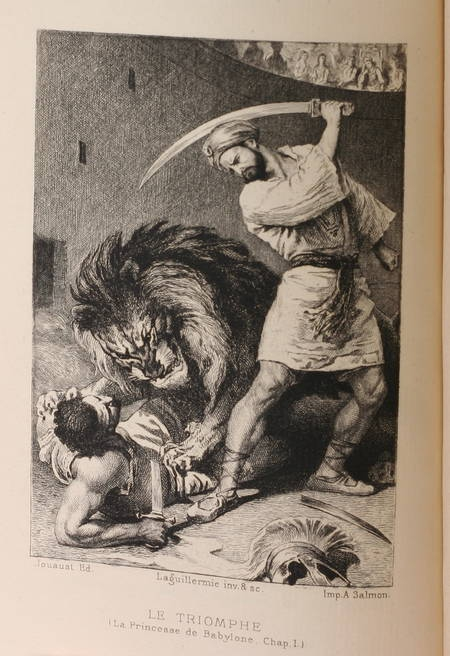 VOLTAIRE - Romans de Voltaire - 1878 - Eaux-fortes de Laguillermie - 5 volumes - Photo 1 - livre d'occasion