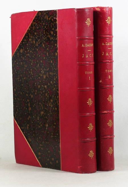 DAUDET - Jack - 1885 - 2 volumes reliés - 1ere edidtion illustrée - Montégut ill - Photo 0 - livre rare