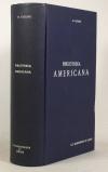 LECLERC (Ch.). Bibliotheca americana. Histoire, géographie, voyages, archéologie et linguistique des deux Amériques et des Philippines