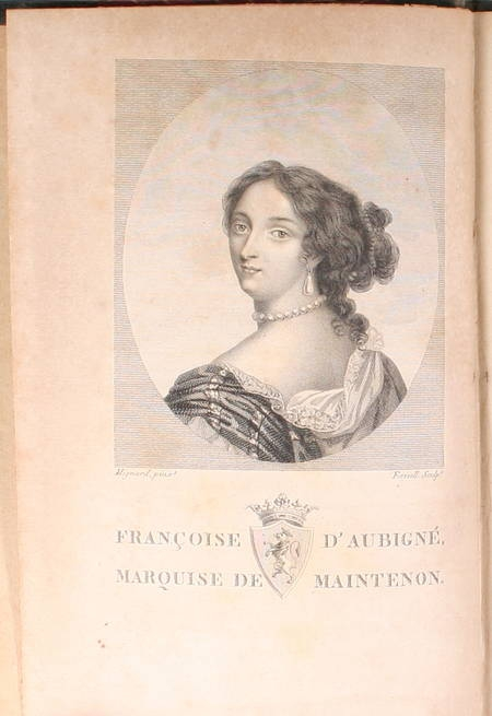 LAFONT d'AUSSONNE (M.). Histoire de Madame de Maintenon fondatrice de Saint-Cyr, livre ancien du XIXe siècle