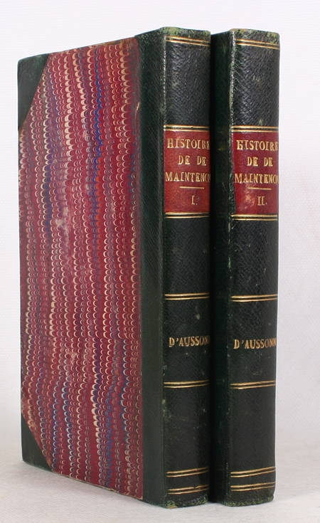 LAFONT - Histoire de Madame de Maintenon fondatrice de Saint-Cyr - 1814 - Photo 1 - livre de bibliophilie