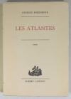 BORDONOVE - Les atlantes - 1965 - 1/30 Marais - EO - Photo 0, livre rare du XXe siècle