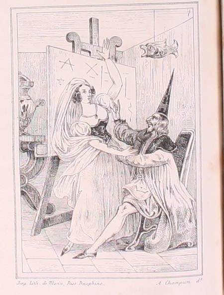 HOFFMANN - Contes - 1838 - 2 volumes reliés - Figures - Photo 0 - livre rare