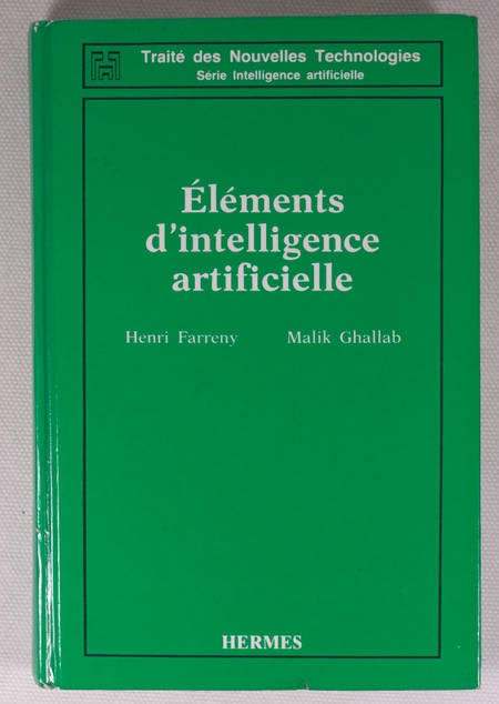 FARRENY - Eléments d'intelligence artificielle - 1987 - Photo 0 - livre de bibliophilie