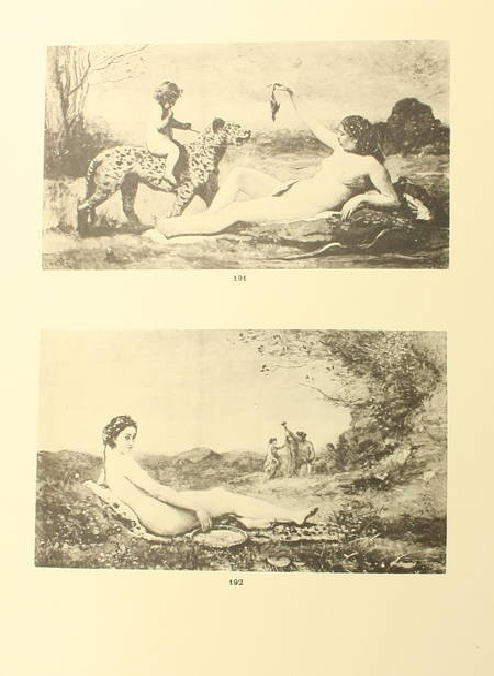 BERNHEIM de VILLERS (C.). Corot, peintre de figures, livre rare du XXe siècle
