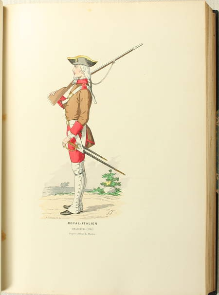 DU FRESNEL - Un régiment à travers l'histoire. Le 76e, ex-1er léger - 1894 - Photo 1 - livre rare
